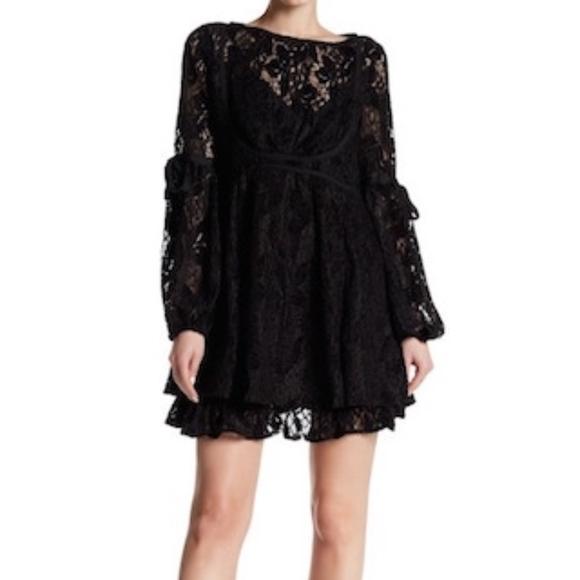 4296effb00b4 NWT Free People Women s Ruby Lace Mini Dress